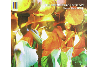 The Drummers Of Burundi - Live At Real World - (CD)