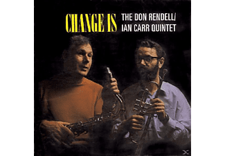 Carr,Ian Quintet/Don Rendell,The - Change Is - (CD)
