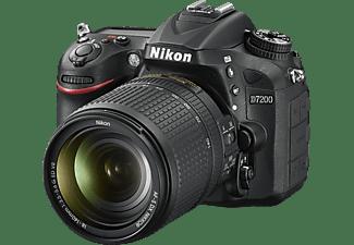 nikon d7200 kit spiegelreflexkameras inkl objektiv 18 140 mm 24 2 megapixel mediamarkt. Black Bedroom Furniture Sets. Home Design Ideas
