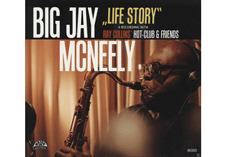 Big Jay Mcneely - Life Story-With Ray Collin's Hot-Club - (CD)