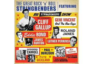 Cliff & Friends Gallup - Great Rock'n'roll Stringbenders - (CD)