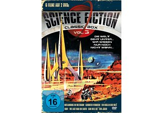 Science Fiction Classic Box 3 - (DVD)