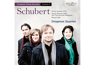 Diogenes Quartet - String Quartets Vol.4 [CD]