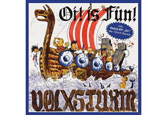 Volxsturm - Oi Is Fun (Ltd.Gatefold/Blue Vinyl) - (Vinyl)