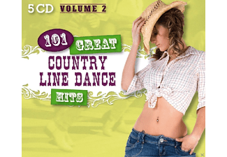 VARIOUS - 101 Great Country Line Dance Hits Vol.2 [CD]