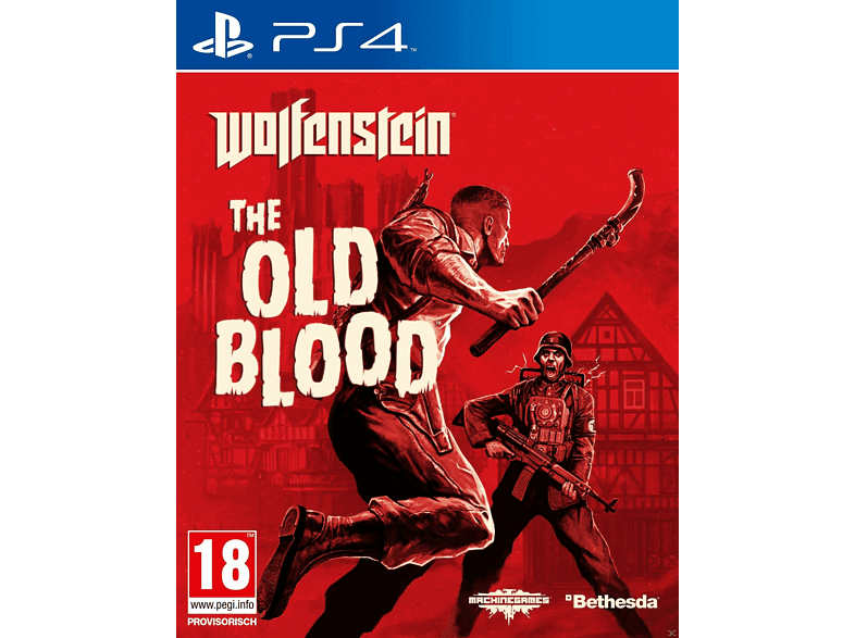 Wolfenstein The Old Blood PlayStation 4 gaming   offline sony ps4 παιχνίδια ps4 gaming games ps4 games