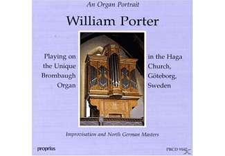 William Porter - Brombaugh-Orgel Göteborg - (CD)
