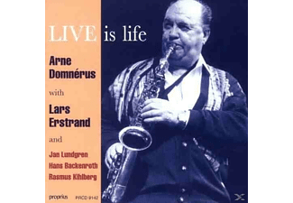 Arne Domnerus - Live Is Life - (CD)