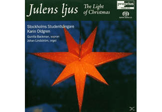Stockholms Studentsangare, Karin Oldgren - Julens Ljus - The Light Of Christmas - (SACD Hybrid)