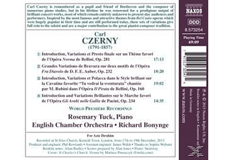Rosemary Tuck;English Chamber Orchestra - Bel Canto Concertante: Var.F.Klavier & Orch. - (CD)