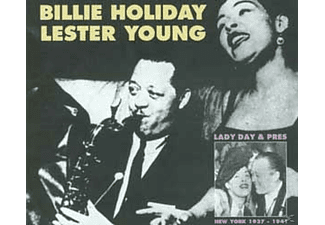 Lester Young, Billie Holiday - Lady Day And Pres,1937-1941 - (CD)