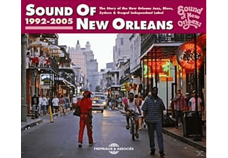VARIOUS, Algiers Brass Band/Ridgley,Tommy/Darnell,Tara/+ - Sound Of New Orleans 1992-2005 - (CD)