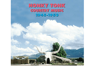 Various - Honky Tonk Country Music (1945-1953) - (CD)