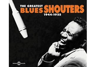 VARIOUS - Greatest Blues Shouters 1944-1955 - (CD)
