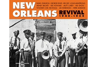 VARIOUS - New Orleans Revival 1940-1954 - (CD)