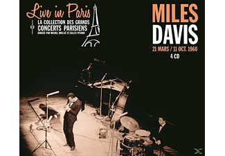 Miles Davis - Live In Paris - 21 Mars / 11 Octobre 1960 - (CD)