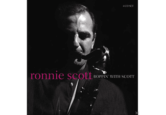 Ronnie Scott - Boppin' With Scott - (CD)