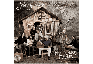 Jimmy & The Webb Brothers Webb - Cottonwood Farm [CD]