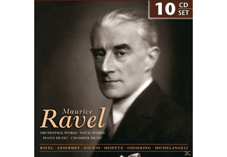 Maurice Ravel / Various - Maurice Ravel-Orchestral Works & Vocal Works - (CD)
