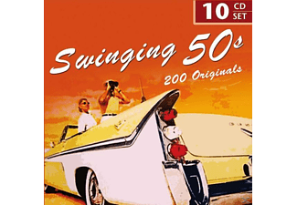 VARIOUS - Swingin' 50's - 200 Originals [CD]