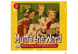 VARIOUS - Mum's The Word-60 Favourite Songs - (CD)