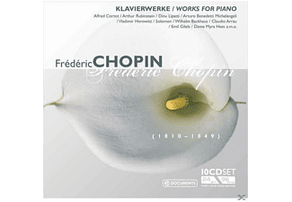 VARIOUS - Klavierwerke-Wallet Box (Chopin, Frederic) [CD]
