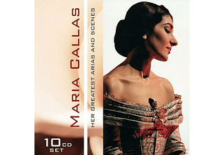 Maria Callas - Her Great Arias & Scenes - (CD)