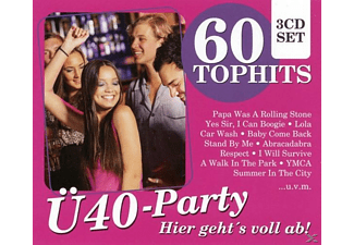 VARIOUS - Ü40-Party - Hier Geht's Voll Ab! - (CD)