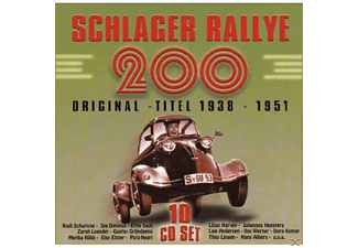 VARIOUS - Schlager Ralley 200-1938-51 - (CD)
