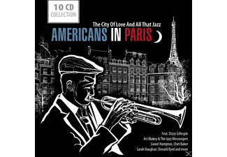 VARIOUS - Americans In Paris - The City Of Love And All That Jazz [CD]