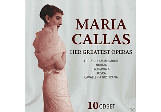 Maria Callas - Maria Callas-Her Greatest Operas - (CD)