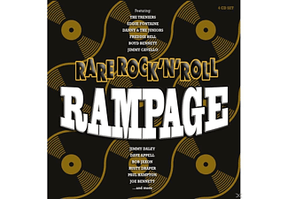 VARIOUS - Rare Rock'n'roll Rampage - (CD)