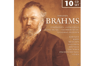 VARIOUS - Johannes Brahms  10 Cd Box [CD]