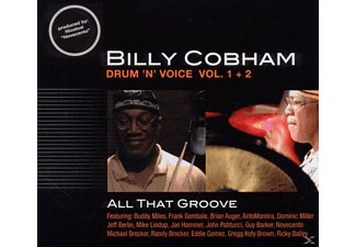 Billy Cobham - Drum 'n Voice Vol.1+2-All That Groove [CD]