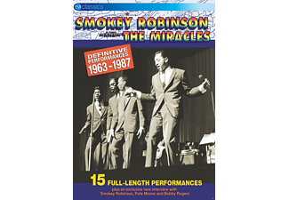 Robinson Smokey & Miracles The - Definitive Performances 1963-1987 [DVD]