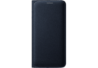 SAMSUNG Flip Wallet Fabric Galaxy S6 Edge - Svart