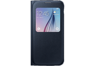 SAMSUNG S-View Cover PU Galaxy S6 - Svart