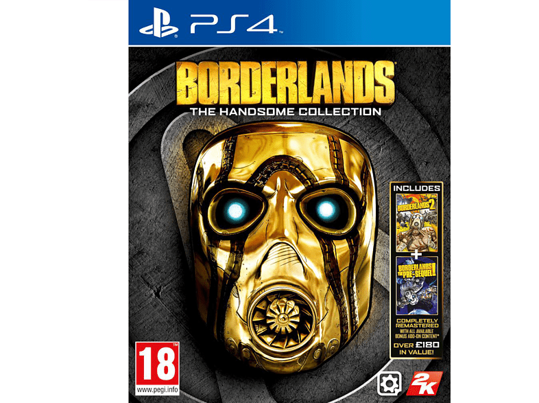 Borderlands The Handsome Collection PS4 gaming games ps4 games