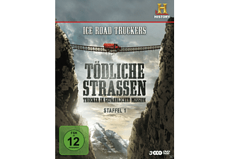 Ice Road Truckers: Tödliche Strassen - Staffel 1 - (DVD)