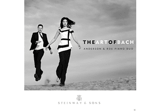 Anderson & Roe Piano Duo - The Art Of Bach - (CD)