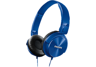 PHILIPS SHL3060BL/00, On-ear kopfhörer, Blau