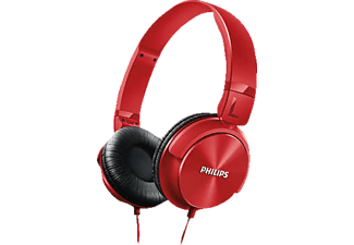 PHILIPS SHL3060RD/00, On-ear kopfhörer, Rot
