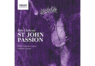 Wells Cathedral Choir - St John Passion - (CD)