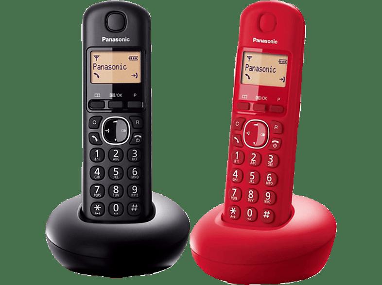 PANASONIC KX-TGB210GR Red + Black