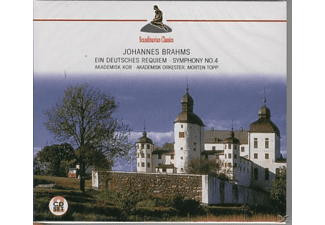 Morten Topp;Various - Ein Deutsches Requiem (Brahms, Johannes) - (CD)