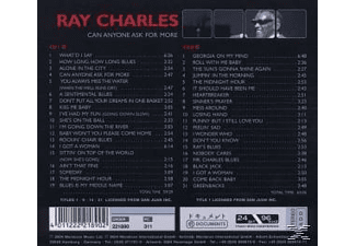 Ray Charles - Can Anyone Ask For More - (CD)