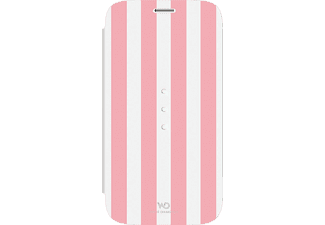WHITE DIAMONDS Crystal Girly Edition Bookcover Samsung Galaxy S6 Kunststoff/Material-Mix/Polyurethan Stripes