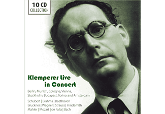 Various Orchestras - Otto Klemperer-Live In Concert - (CD)