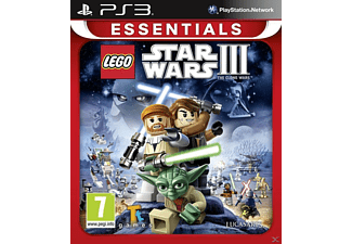 LEGO Star Wars III: The Clone Wars (Essentials) (PlayStation 3)