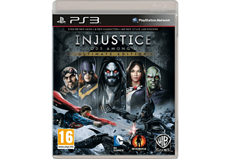 Injustice: Gods Among Us - Game of the Year Edition PS3